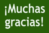 Muchas gracias green