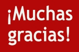 muchas gracias red